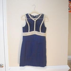 Lilly Pulitzer True Navy Leigh Shift NWT